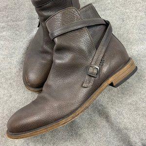 Bottega Veneta Men's Buckled Ankle Boot